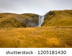 a view of the magnificent...   Shutterstock . vector #1205181430