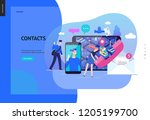 business series  color 2  ... | Shutterstock .eps vector #1205199700