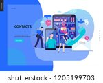 business series  color 2  ... | Shutterstock .eps vector #1205199703