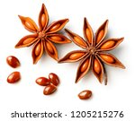 Star Anise Isolated On The...