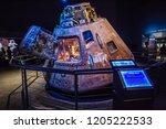houston  texas   august  2018 ... | Shutterstock . vector #1205222533
