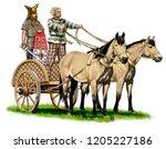 Ancient Celtic War Chariot...