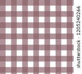 scottish plaid. pink  and white ... | Shutterstock .eps vector #1205240266