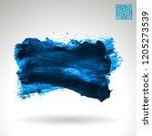 blue brush stroke and texture.... | Shutterstock .eps vector #1205273539