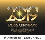 vector exclusive merry... | Shutterstock .eps vector #1205277829