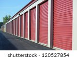 storage unit doors | Shutterstock . vector #120527854