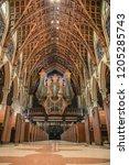 chicago  illinois   usa   march ... | Shutterstock . vector #1205285743