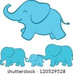 adorable cartoon illustration... | Shutterstock .eps vector #120529528