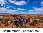 horseshoes bend  arizona  usa ... | Shutterstock . vector #1205301559