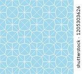 art deco seamless background.  | Shutterstock .eps vector #1205303626