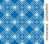 art deco seamless background.  | Shutterstock .eps vector #1205303629