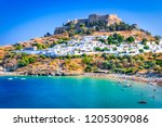 Rhodes  Greece. Lindos Small...