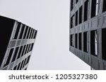 urban geometry. building | Shutterstock . vector #1205327380