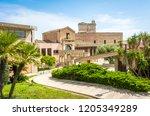 cagliari  sardinia italy  april ... | Shutterstock . vector #1205349289