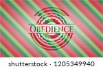 obedience christmas colors... | Shutterstock .eps vector #1205349940