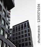 urban geometry. building   Shutterstock . vector #1205371036