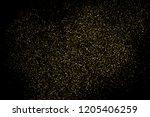 gold glitter texture isolated... | Shutterstock . vector #1205406259