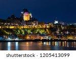 Frontenac Castle In Old Quebec...