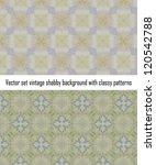 vintage shabby background with...   Shutterstock .eps vector #120542788