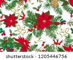 seamless pattern  background... | Shutterstock .eps vector #1205446756