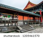 28 may 2018  buddhist temple... | Shutterstock . vector #1205461570