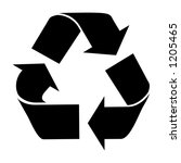 recycle | Shutterstock . vector #1205465