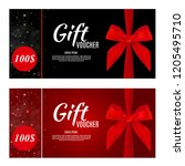 luxury members  gift card... | Shutterstock .eps vector #1205495710