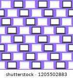 12 vector stylish seamless...   Shutterstock .eps vector #1205502883