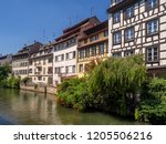 along the ill river in petite...   Shutterstock . vector #1205506216