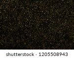 gold glitter texture isolated... | Shutterstock . vector #1205508943