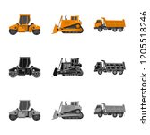 vector illustration of build...   Shutterstock .eps vector #1205518246