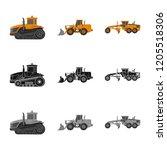 vector design of build and...   Shutterstock .eps vector #1205518306