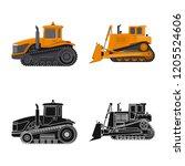 vector illustration of build...   Shutterstock .eps vector #1205524606