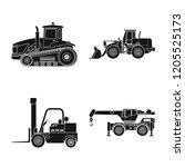 vector illustration of build... | Shutterstock .eps vector #1205525173