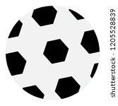 vector drawing  football ... | Shutterstock .eps vector #1205528839