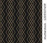 vector golden lines pattern....   Shutterstock .eps vector #1205537659