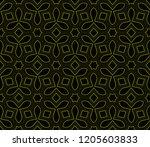 vector geometric seamless... | Shutterstock .eps vector #1205603833