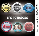 badges eps 10 | Shutterstock .eps vector #120565576