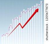 business data analysis.... | Shutterstock .eps vector #1205677873