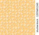 segments of circles. vector... | Shutterstock .eps vector #1205681260