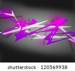 violet spiky abstract background | Shutterstock . vector #120569938