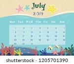 The Relax Beach Vector Calendar ...