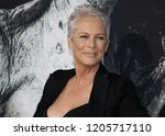 jamie lee curtis at the los... | Shutterstock . vector #1205717110