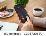 alushta  russia   september 28  ... | Shutterstock . vector #1205720890