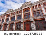 the building of the residence | Shutterstock . vector #1205725333