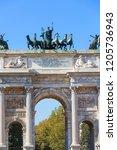 milan  italy   september 28 ... | Shutterstock . vector #1205736943