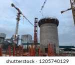 slipform silos are best for... | Shutterstock . vector #1205740129