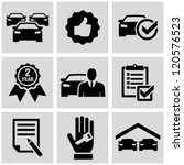 car dealership icons | Shutterstock .eps vector #120576523