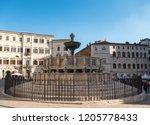 italy  perugia   20 october... | Shutterstock . vector #1205778433