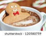 Gingerbread Cookie Men In A Hot ...